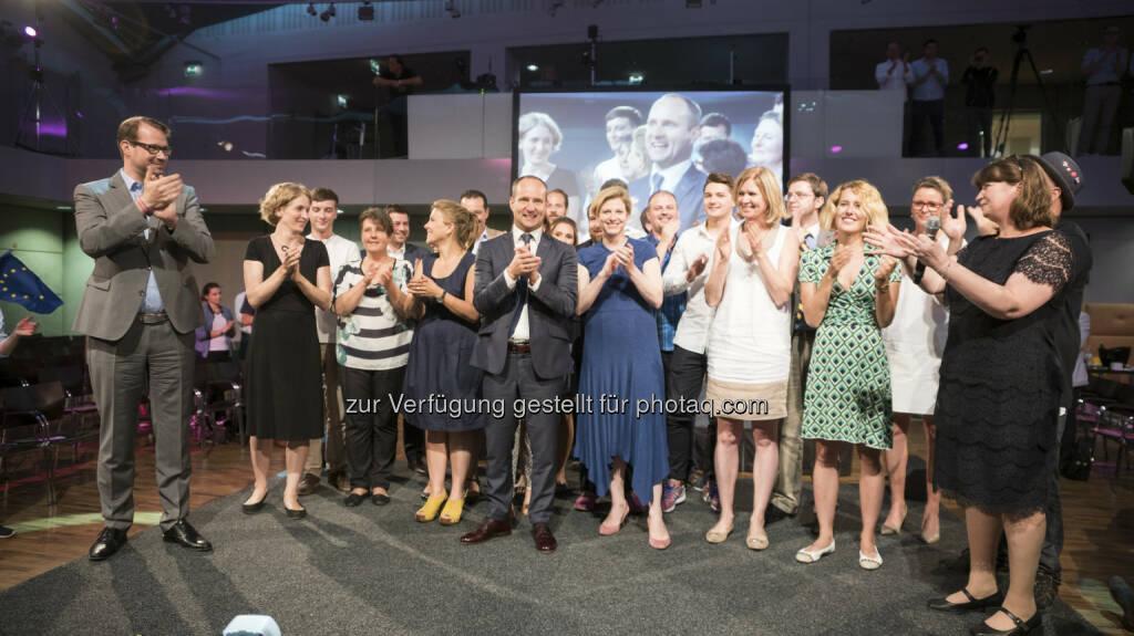 NEOS - Das Neue Österreich: NEOS: Matthias Strolz zum Spitzenkandidaten für Nationalratswahl 2017 gewählt (Fotocredit: NEOS), © Aussender (10.07.2017)
