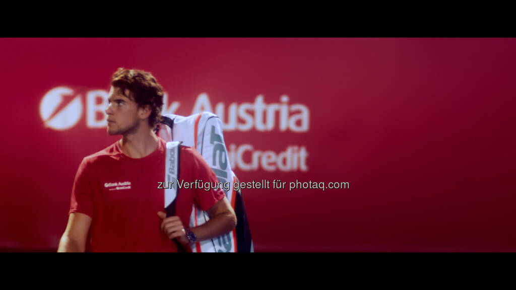 Dominic Thiem (Fotograf: Stefan Leitner / Fotocredit: UniCredit Bank Austria), © Aussender (10.07.2017)