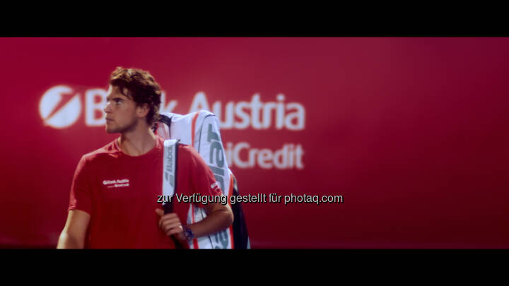 Dominic Thiem (Fotograf: Stefan Leitner / Fotocredit: UniCredit Bank Austria)