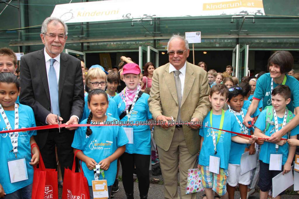 KinderuniWien: Eröffnung der 15. KinderuniWien (Fotocredit: Kinderbüro Universität Wien GmbH/APA-Fotoservice/Schedl), © Aussender (10.07.2017)