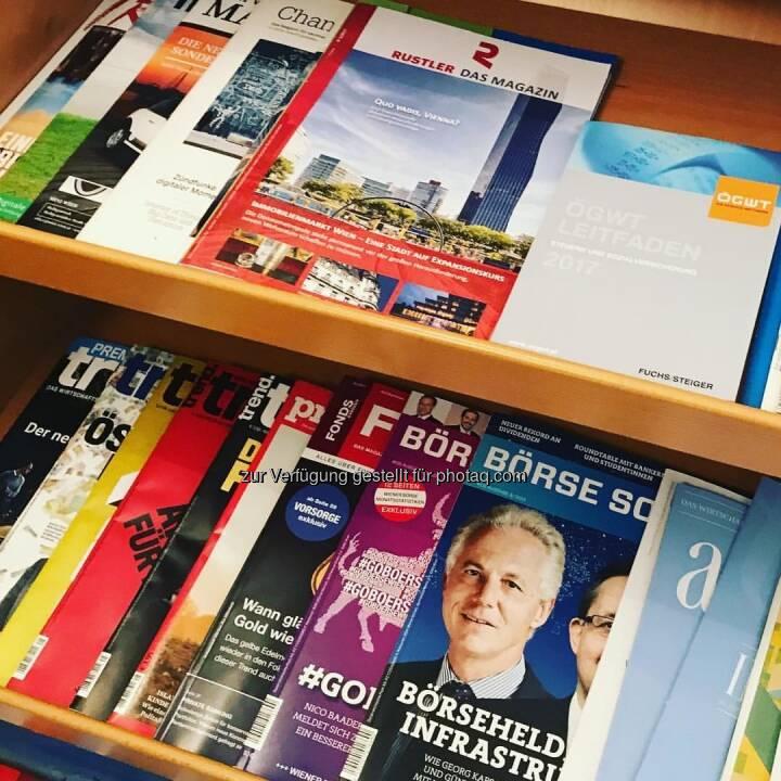 Börse Social Magazine im Regal