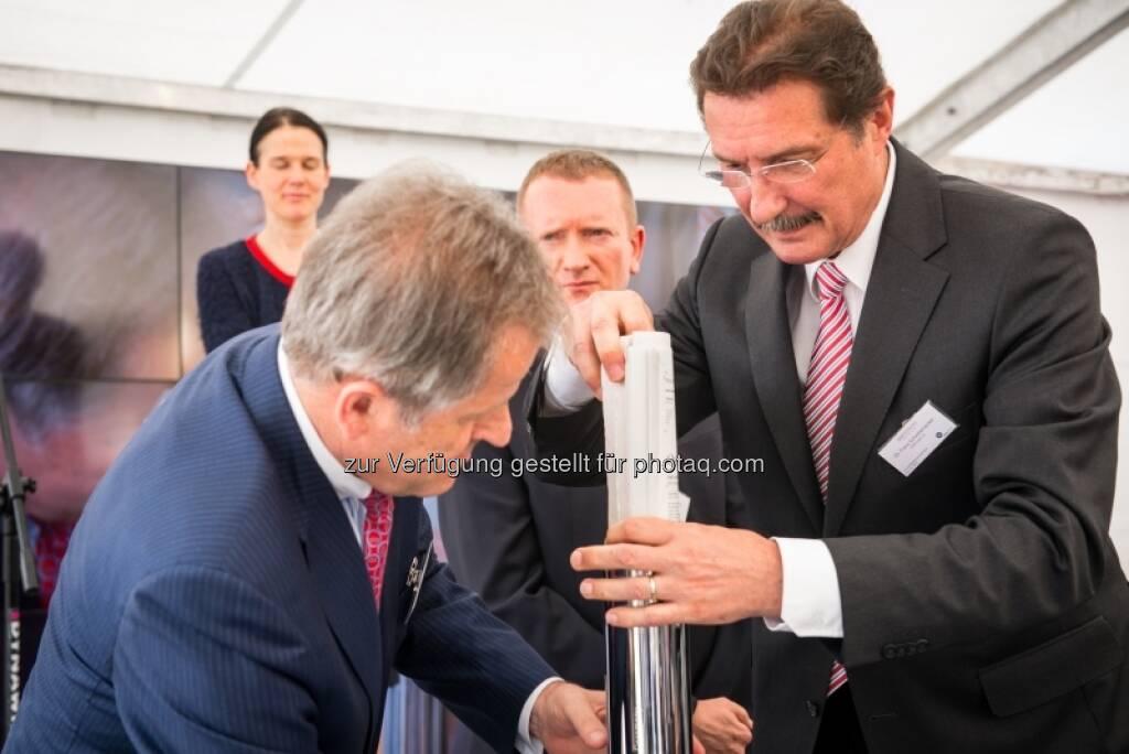 Bettina Schragl, Eduard Zehetner, Marek Tryzybowicz, Franz Scheibenecker, &copy; Immofinanz via <a href=
