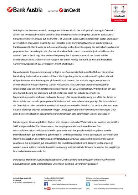 Wachstumsprognose 2017 für Österreich von 1,8 auf 2,3 Prozent erhöht, Seite 2/5, komplettes Dokument unter http://boerse-social.com/static/uploads/file_2288_wachstumsprognose_2017_fur_osterreich_von_18_auf_23_prozent_erhoht.pdf (17.07.2017)