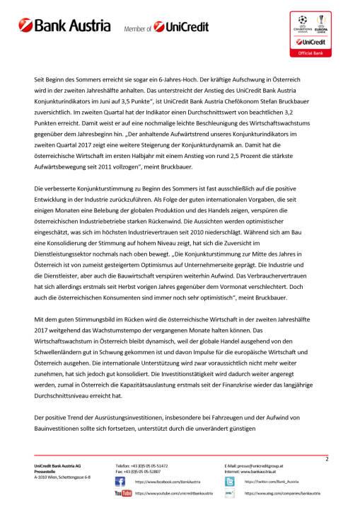 Wachstumsprognose 2017 für Österreich von 1,8 auf 2,3 Prozent erhöht, Seite 2/5, komplettes Dokument unter http://boerse-social.com/static/uploads/file_2288_wachstumsprognose_2017_fur_osterreich_von_18_auf_23_prozent_erhoht.pdf