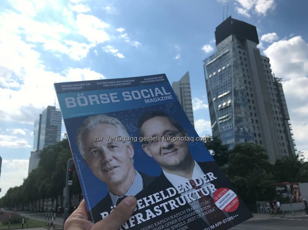 Börse Social Magazine zum Herzeigen, wer ich bin (18.07.2017)