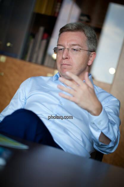Michael Höllerer, Generalbevollmächtigter bei der RBI (Fotocredit: Michaela Mejta/photaq.com)  (19.07.2017)