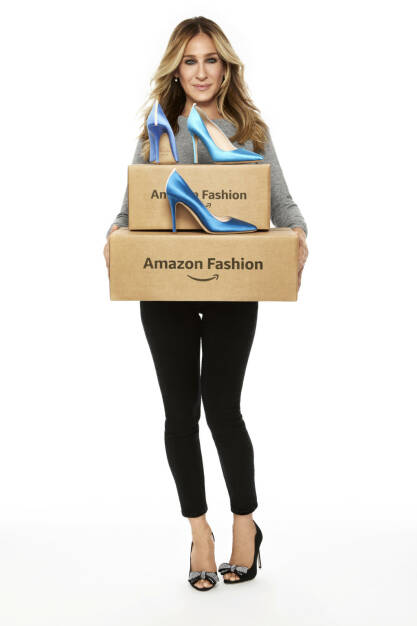 Amazon Fashion kollaboriert mit Sarah Jessica Parker, Bild: Amazon.de, © Aussendung (20.07.2017)