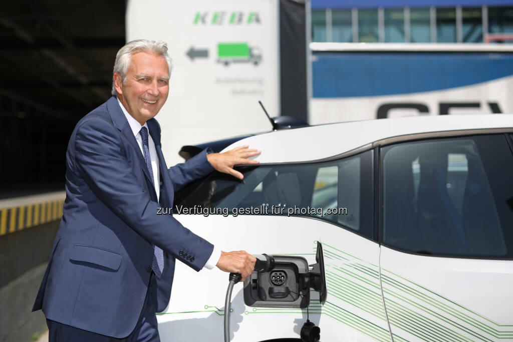 KEBA AG: Anteil an Elektroautos soll bis 2025 auf 25% steigen, Elektromobilität, Strom tanken, Foto: KEBA AG/APA-Fotoservice/Hartl, © Aussendung (21.07.2017)