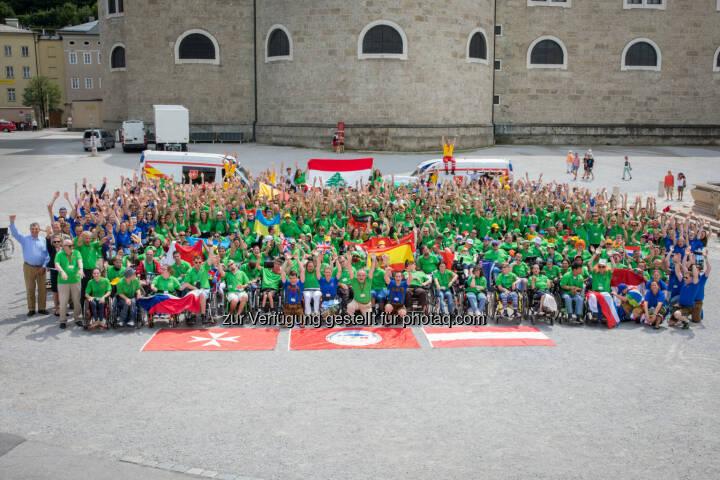Die Malteser: Internationales Malteser Camp 2017: Über 500 junge Menschen mit und ohne Behinderung für eine außergewöhnliche Woche in Salzburg (Fotograf: Christian Lendl / Fotocredit: Malteser)