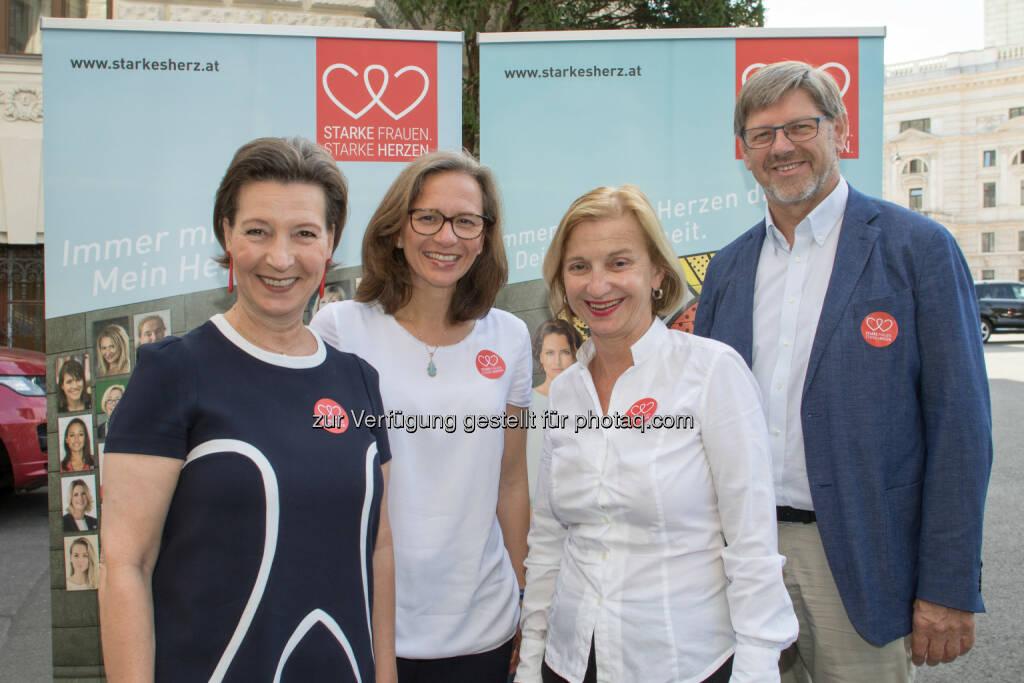 Welldone Werbung und PR GmbH: Starke Frauen – Starke Herzen: Initiative gegen Herzerkrankungen bei Frauen (Fotocredit: Welldone/Schaller), © Aussender (24.07.2017)