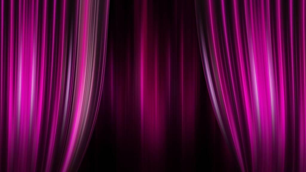 Theater, Bühne, Vorhang, Geheim, Geheimnis, Auftritt, Präsentation (Bild: Pixabay/geralt https://pixabay.com/de/theater-kino-vorhang-streifen-1713816/ ) (25.07.2017)
