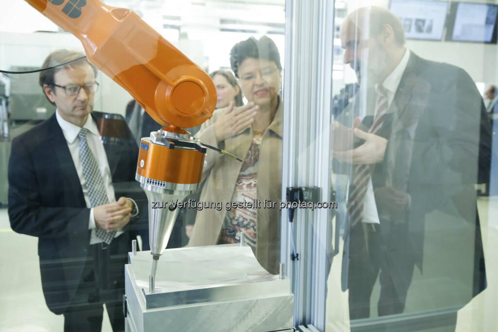 Eröffnung aspern iQ: Gerhard Hirczi, Renate Brauner, Friedrich Bleicher (c) Wirtschaftsagentur Wien (15.12.2012)