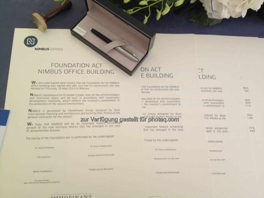 Foundation Act: Nimbus Office Building, &copy; Immofinanz via <a href=