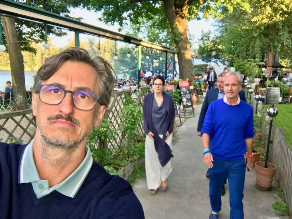 Josef Chladek (BSN), Bettina Schragl (Immofinanz), Christian Drastil (BSN) (26.07.2017)