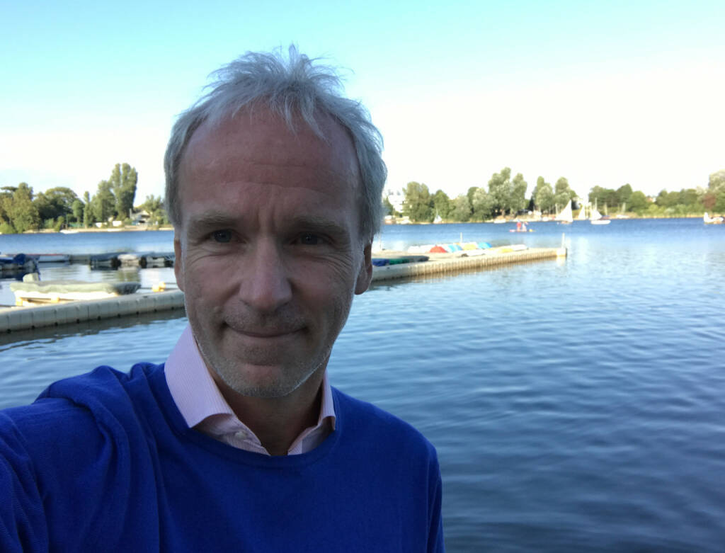 Christian Drastil mit dem bei Events fixen Selfie (26.07.2017)