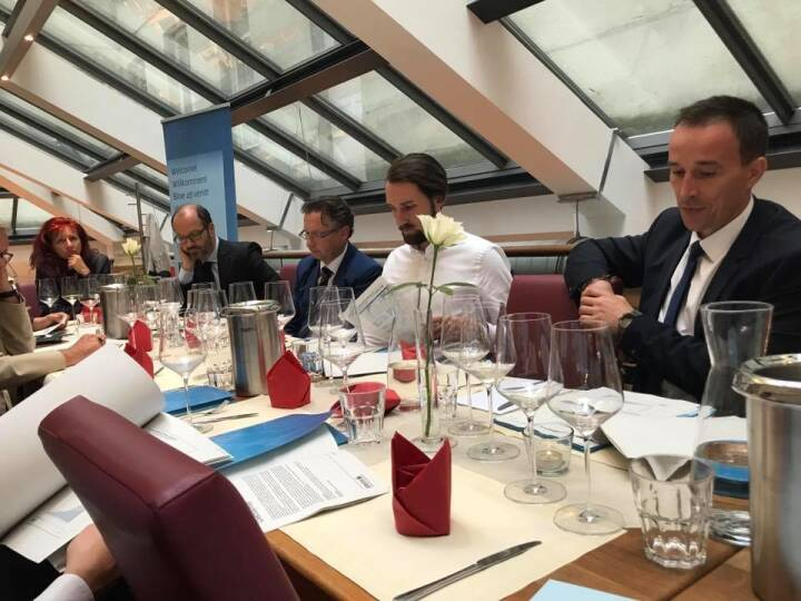Emerging Markets Event von Erste Asset Management (hier Paul Severin und Peter Varga)
