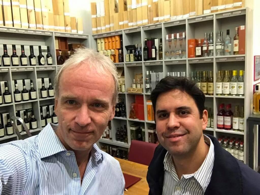 Christian Drastil mit Ralph Gollner beim Emerging Markets Event von Erste Asset Management (28.07.2017)