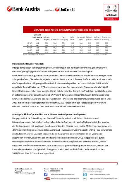 Heimische Industrie bleibt im Sommer kräftige Stütze des Wirtschaftsaufschwungs in Österreich, Seite 3/4, komplettes Dokument unter http://boerse-social.com/static/uploads/file_2300_heimische_industrie_bleibt_im_sommer_kraftige_stutze_des_wirtschaftsaufschwungs_in_osterreich.pdf (28.07.2017)