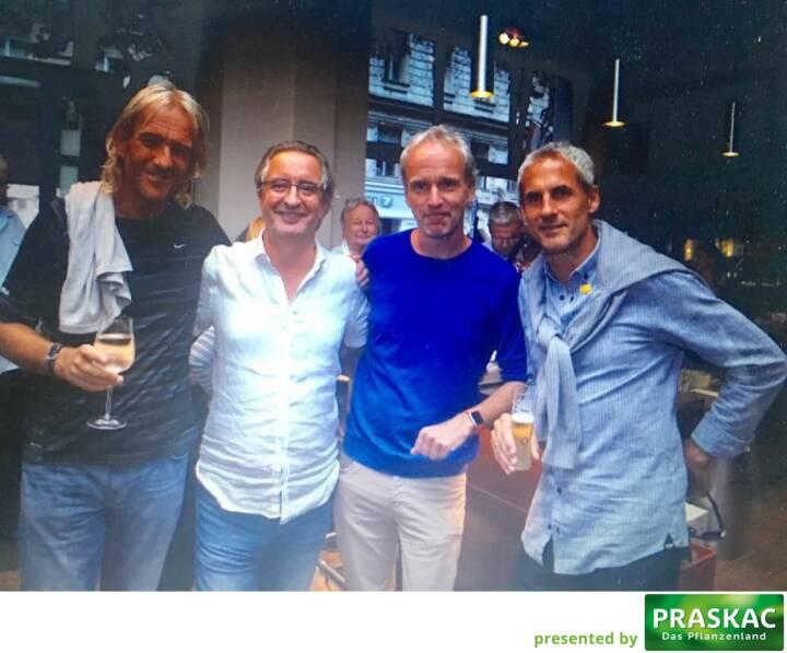 Andreas Du-Rieux, Robert Sommer, Christian Drastil, Michael Konsel