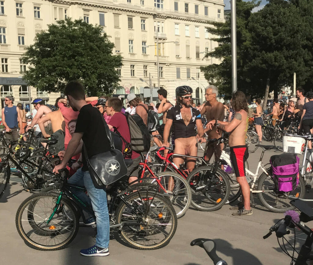 Naked Bike Ride, © diverse photaq (30.07.2017)