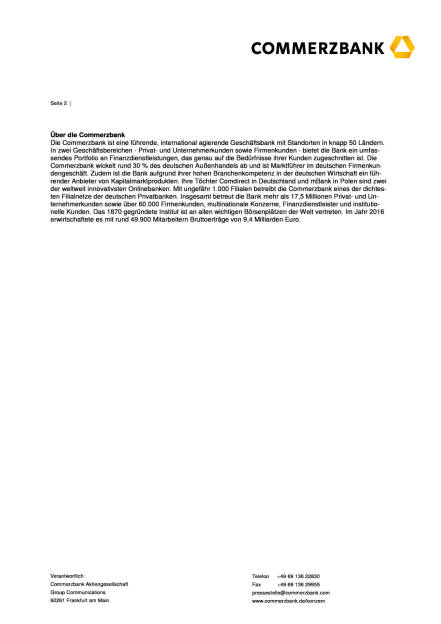 Commerzbank startet digitale Baufinanzierung über Smartphones, Seite 2/2, komplettes Dokument unter http://boerse-social.com/static/uploads/file_2301_commerzbank_startet_digitale_baufinanzierung_uber_smartphones.pdf (31.07.2017)