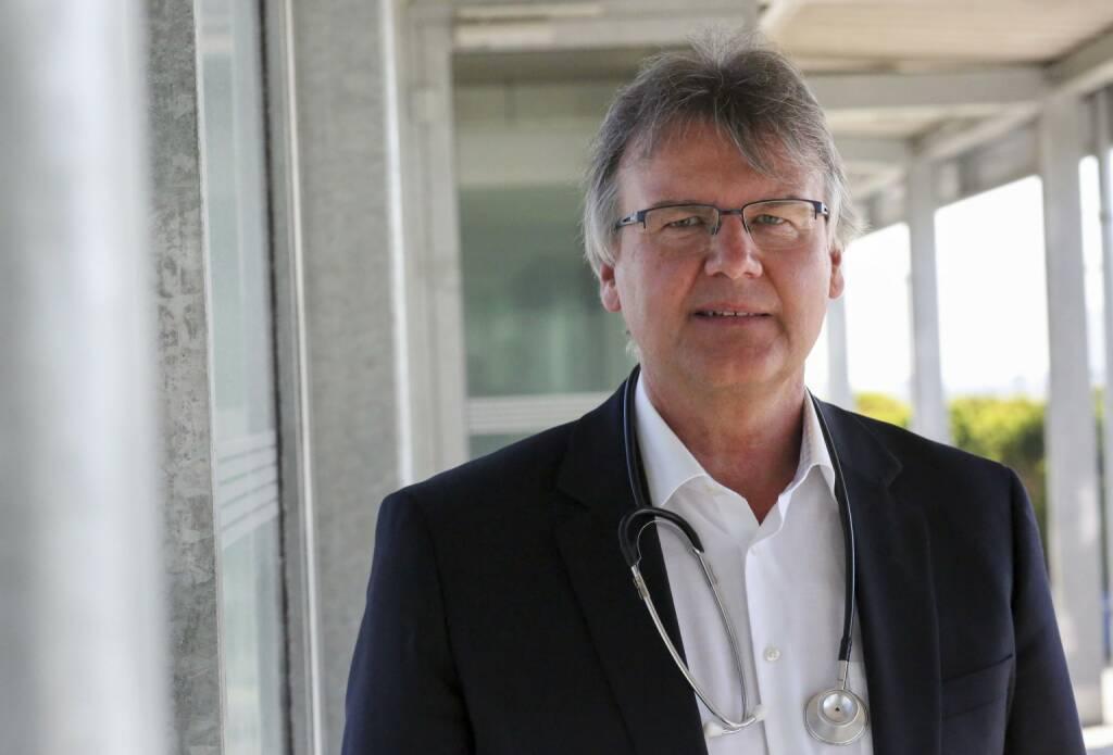 UNIQA Insurance Group AG: Peter Krtischer, UNIQA Arbeitsmediziner, Bild: Gregor Bitschnau, Uniqa, © Aussender (03.08.2017)