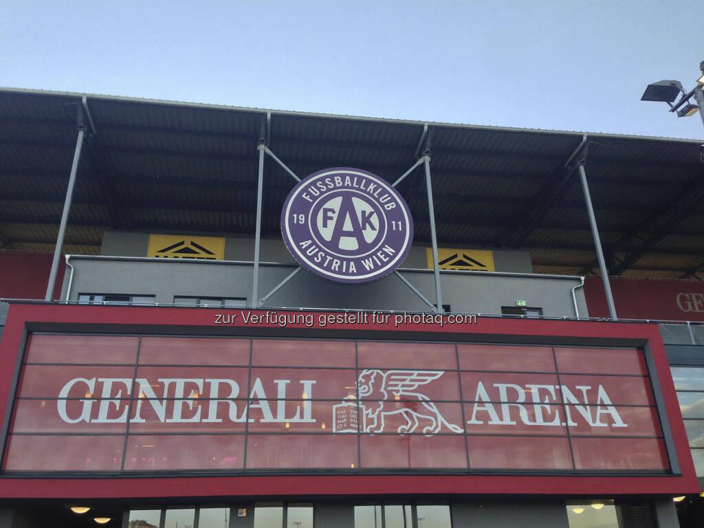 Generali Arena, FAK, Austria Wien (23.05.2013)