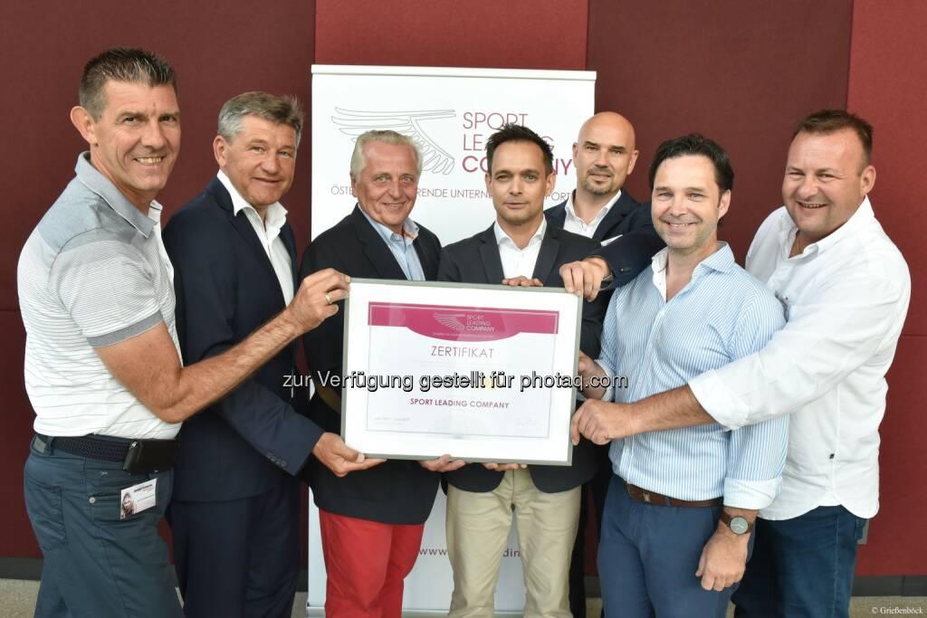 Sport Business Magazin: Sport Leading Company: Gütesiegel für die Sport & Freizeitwirtschaft (Fotocredit: Gabriele Grießenboeck), © Aussender (09.08.2017)