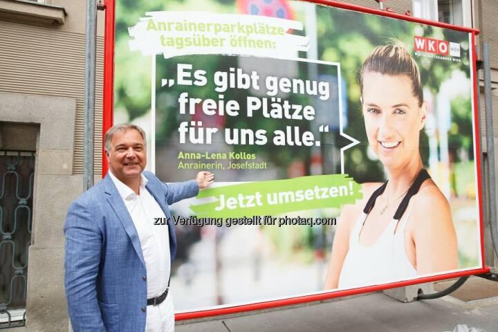 Walter Ruck - Wirtschaftskammer Wien: Ruck: Anrainerparkzonen rasch öffnen (Fotograf: Florian Wieser / Fotocredit: WKW)