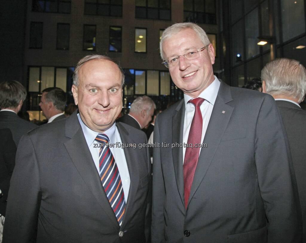 Trauner, Vockenhuber, © RLB OÖ/Strobl (15.12.2012)