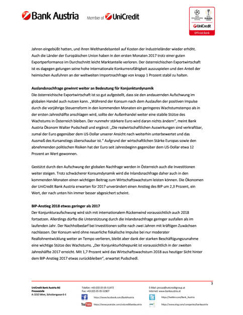 UniCredit Bank Austria Konjunkturindikator: Österreichs Wirtschaft im Sommerhoch, Seite 3/5, komplettes Dokument unter http://boerse-social.com/static/uploads/file_2309_unicredit_bank_austria_konjunkturindikator_osterreichs_wirtschaft_im_sommerhoch.pdf (16.08.2017)
