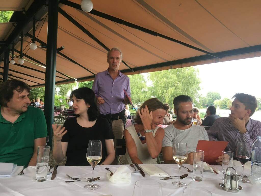Christian Drastil begrüßt die Gäste (17.08.2017)