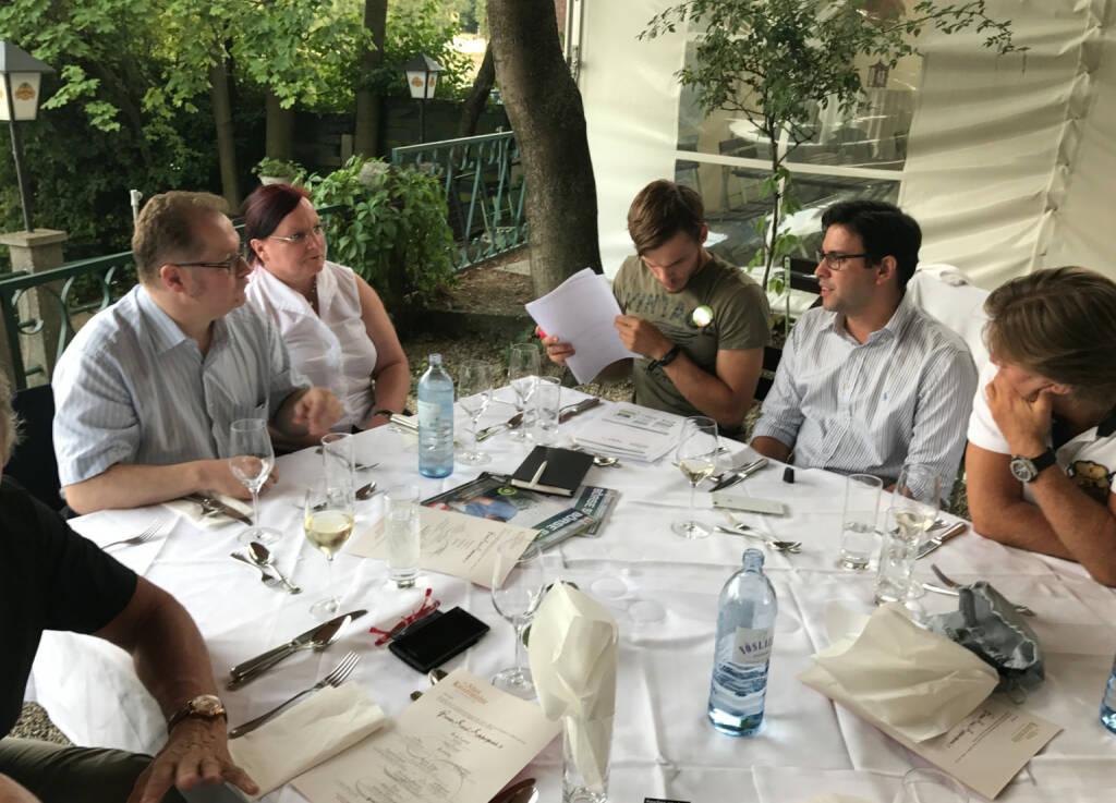Rosinger Group im Talk (17.08.2017)