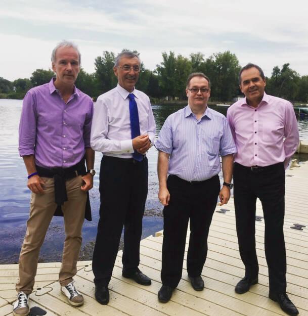 Christian Drastil, Thomas Birtel, Gregor Rosinger, Wolfgang Matejka (17.08.2017)