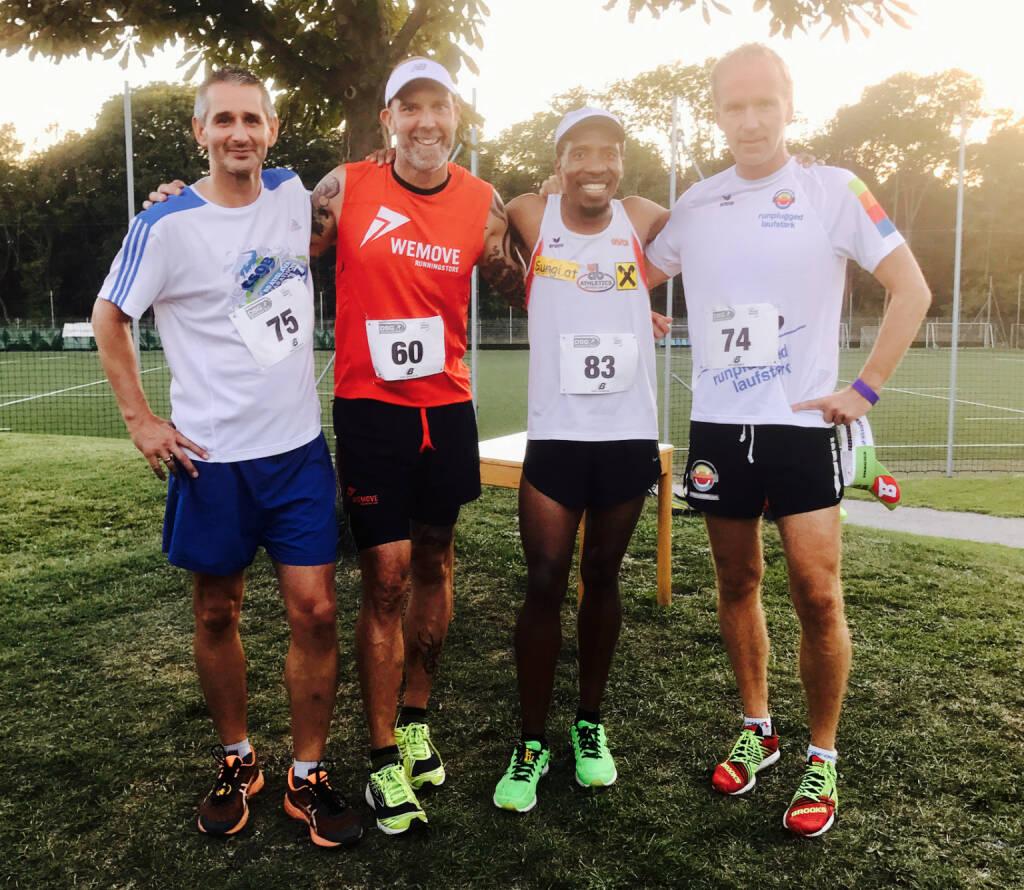 Christian Krupbauer, Roman Tacho, Alfred Sungi, Christian Drastil (17.08.2017)