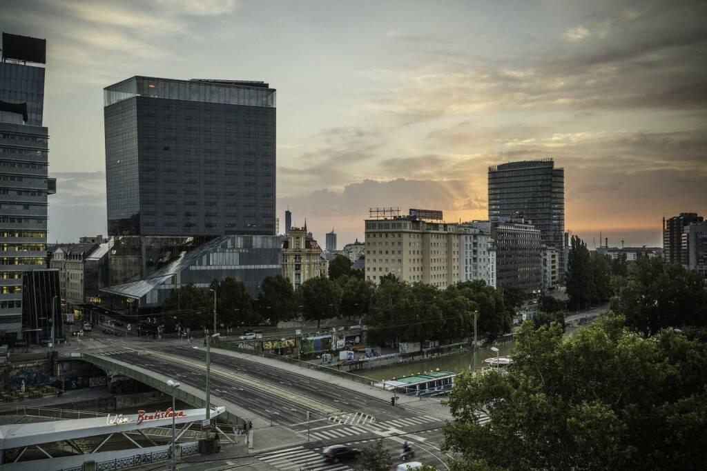 Die weXelerate spaces am Wiener Donaukanal. Bildquelle: Michael Beck, © diverse photaq (28.08.2017)