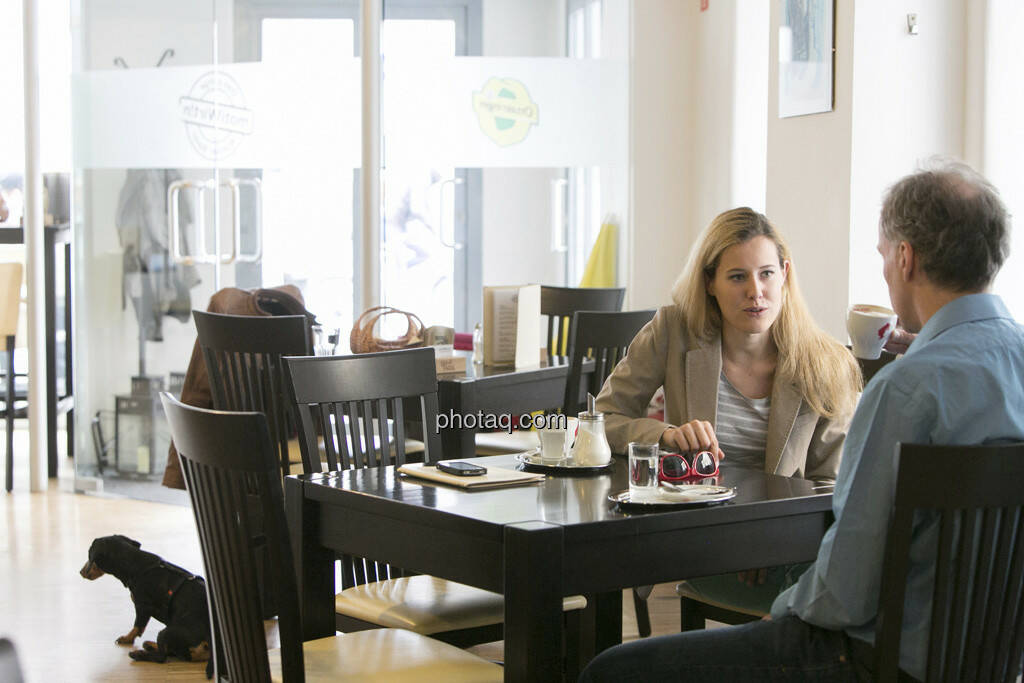 Claudia Gamon (JuLis/Neos), Christian Drastil, © finanzmarktfoto.at/Martina Draper (23.05.2013)