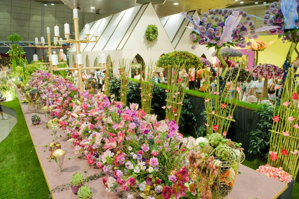 Internationale Gartenbaumesse Tulln mit Europas größter Blumenschau von 31. August bis 4. September 2017, Blumen; Fotocredit: Messe Tulln/JANSENBERGER FRIEDRICH, © Aussendung (29.08.2017)