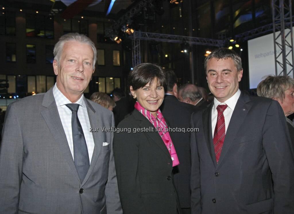 Mitterlehner, Keplinger-Mitterlehner, Schaller, © RLB OÖ/Strobl (15.12.2012)