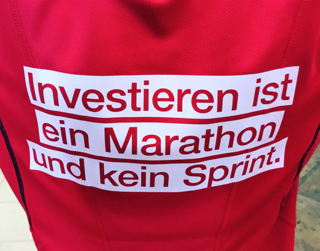 Investieren ist ein Marathon und kein Sprint (c) Wiener Börse, © diverse photaq (06.09.2017)