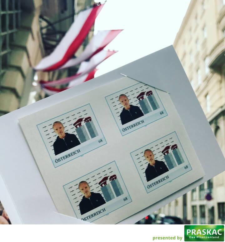 Wiener Börse Briefmarke