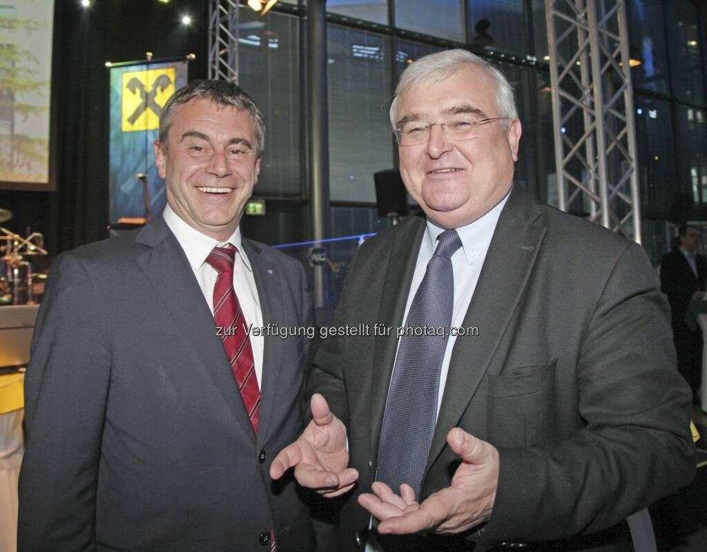 Schaller, Dobusch, © RLB OÖ/Strobl (15.12.2012)