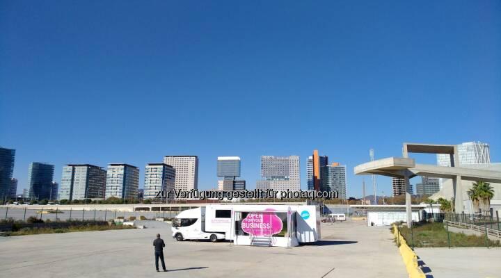 T-Systems Austria GesmbH: Open Telekom Cloud-Truck macht Station in Österreich (Fotocredit: T-Systems)