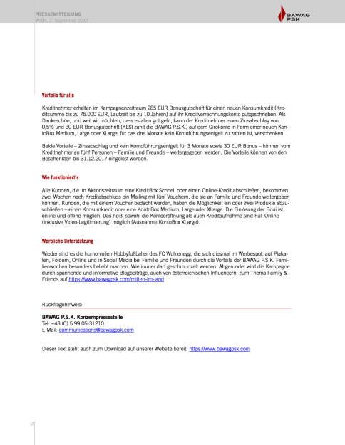 """""""Über Geld spricht man"""" – eine aktuelle Studie der BAWAG P.S.K., Seite 2/2, komplettes Dokument unter http://boerse-social.com/static/uploads/file_2328_uber_geld_spricht_man_eine_aktuelle_studie_der_bawag_psk.pdf (07.09.2017)"""