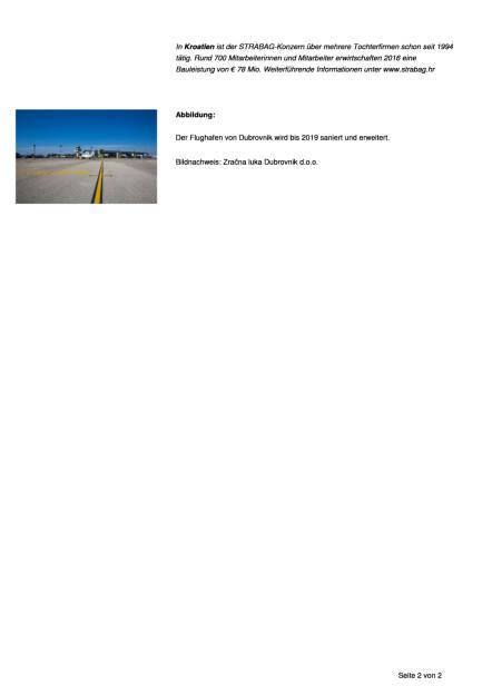 Strabag erweitert Flughafen von Dubrovnik, Seite 2/2, komplettes Dokument unter http://boerse-social.com/static/uploads/file_2329_strabag_erweitert_flughafen_von_dubrovnik.pdf (08.09.2017)