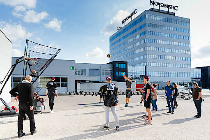 Im September 2017 fand der dritte NOVOMATIC Health Day im Headquarter in Gumpoldskirchen statt. Foto: Novomatic; Fotograf: THOMAS MEYER