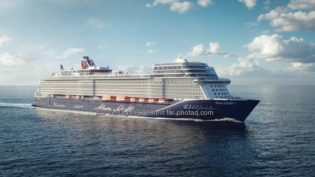 Die neue Mein Schiff 1 von TUI Cruises - TUI Cruises GmbH: Die neue Nummer Eins von TUI Cruises (Fotocredit: TUI Cruises GmbH), © Aussendung (11.09.2017)