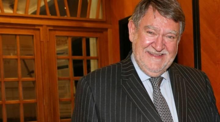 Bankmanager Herbert Stepic (ehemals CEO RBI) erhält einen viennaARTaward für sein Lebenswerk als Kunstsammler; Bild: Robin Consult Lespi