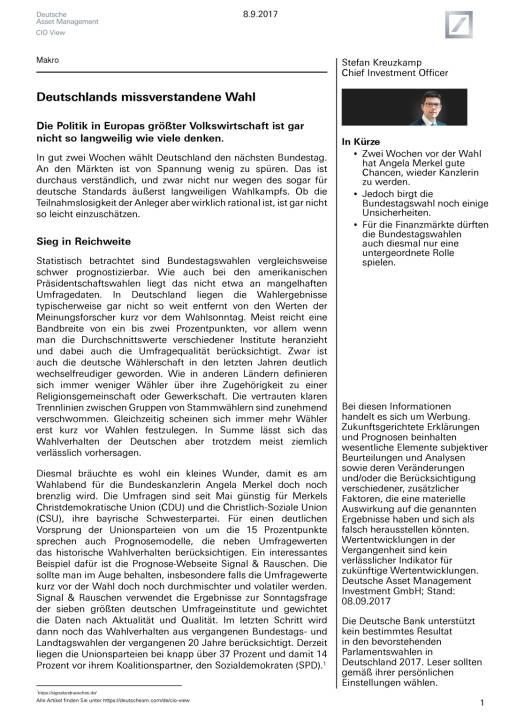 Für die Finanzmärkte dürften die Bundestagswahlen auch diesmal nur eine untergeordnete Rolle spielen, Seite 1/14, komplettes Dokument unter http://boerse-social.com/static/uploads/file_2336__fur_die_finanzmarkte_durften_die_bundestagswahlen_auch_diesmal_nur_eine_untergeordnete_rolle_spielen.pdf