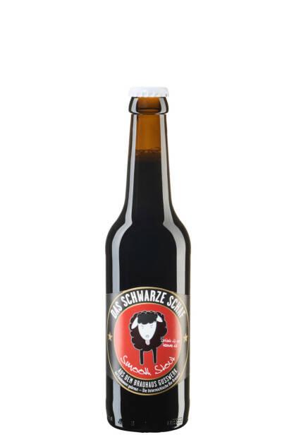 "Brauerei Gusswerk GmbH: Schwarzes Schaf"" prämiert, Bier, Bierflasche; Fotocredit: Brauhaus Gusswerk, © Aussendung (13.09.2017)"